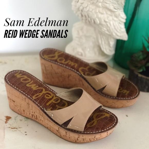 4bc668242144 Sam Edelman Reid Wedge Sandals. M 5a762a2905f4309fc0b053dc